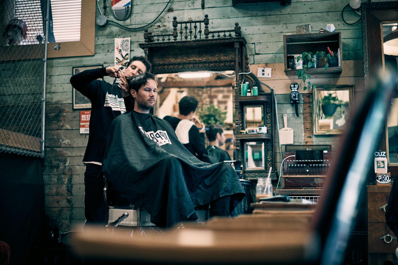 FLORIAN BISON | PHOTOGRAPHER & DIRECTOR ODDFELLOWS BARBER SHOP